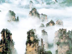 张家界、森林公园、云天渡玻璃桥、天门山、黄龙洞、土家风情园5日(特色宴、精华景点深度游)