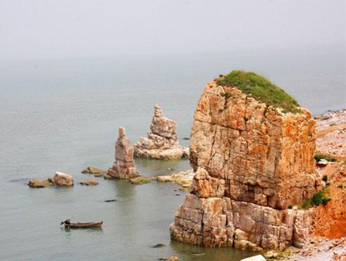 旅游指南与攻略 大连周边游指南 旅顺旅游指南  神龙仙岛海滨有长达3