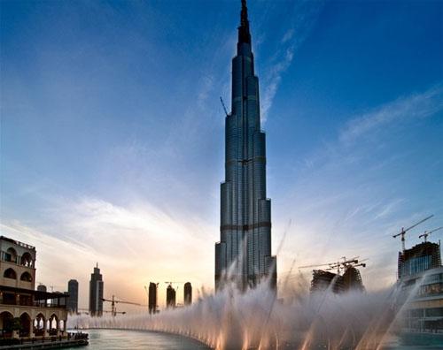 世界最高楼迪拜哈利法塔